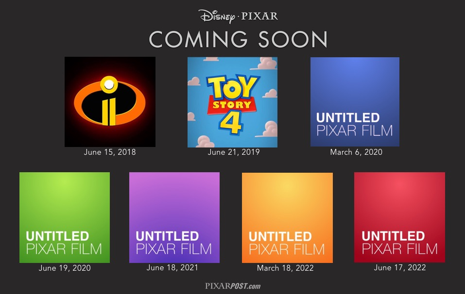Image result for pixar releases